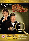 Front cover of the DVD for QI Strictly come duncing
